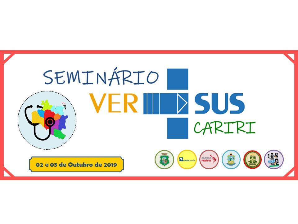 REDE UNIDA PROMOVE: SEMINÁRIO VER-SUS CARIRI – EDIÇÃO 2019/2