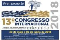RESULTADO DA SELEÇÃO DE PARTICIPANTES DO VER-SUS AMAZONAS EDIÇÃO 2017/2018 NO 13º CONGRESSO INTERNACIONAL REDE UNIDA