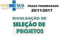 Ver-Sus: Prazo de divulgação dos projetos selecionados prorrogado